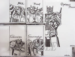 [Rubber Stamp] Transformers - Autobots by eh7150