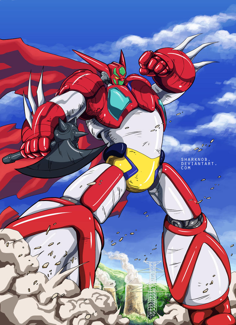 getter robo go go gooo by sharknob