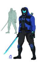 [COMMISSION] Cyborg Samurai