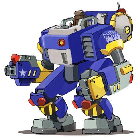 Gunwalker boss X-02 by sharknob