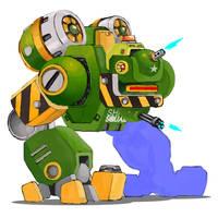 Gun Walker boss x01 by sharknob