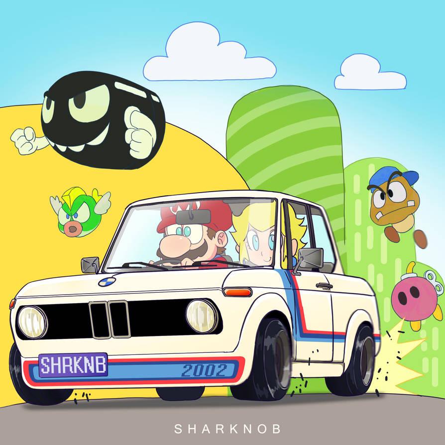 Mario Kart Bmw 2002