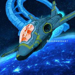 Spaceship Patrol Sharknob 00