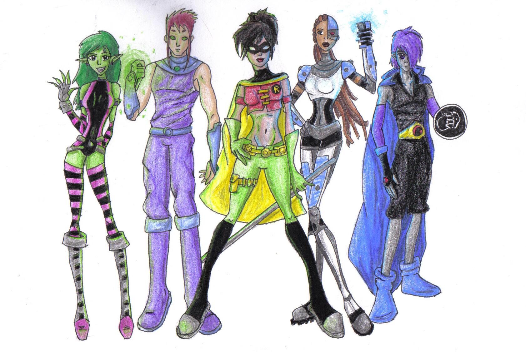 Teen Titans a sexe