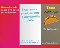 taco landia triptico by cuat21