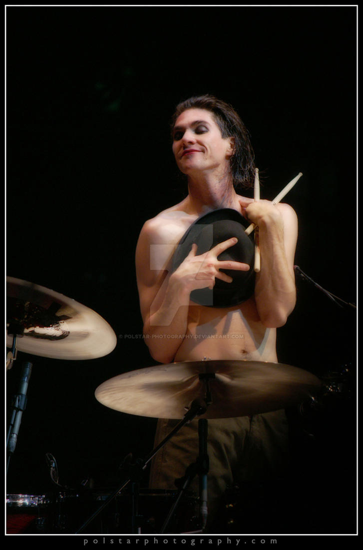 Brian Viglione3  Dresden Dolls by Polstar-Photography