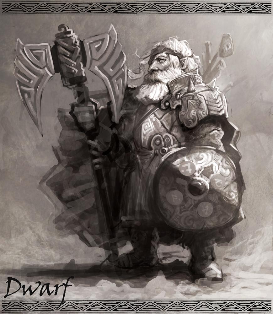 Dwarf Warrior by armandeo64