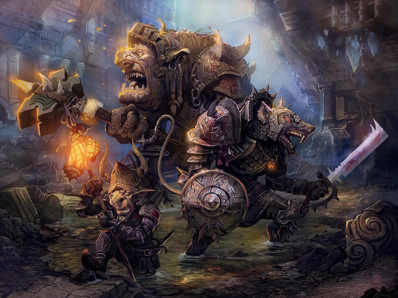 Underworlders by armandeo64