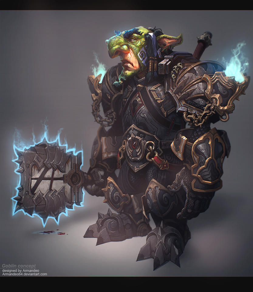 Goblin concept by armandeo64