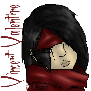 Vincent Valentine by BunnyImYourHunny2