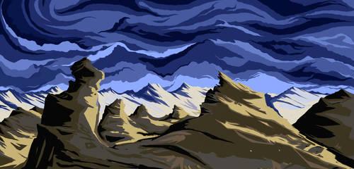 Desert Storm by unshakentomato