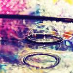 water bubble.