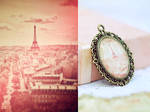 Eiffel Tower Photo Pendant