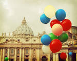 Habemus Papam! Festa in Vaticano by magnesina