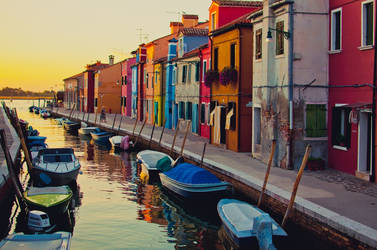Burano the island from my dreams