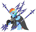 Number III Rainbow Dash