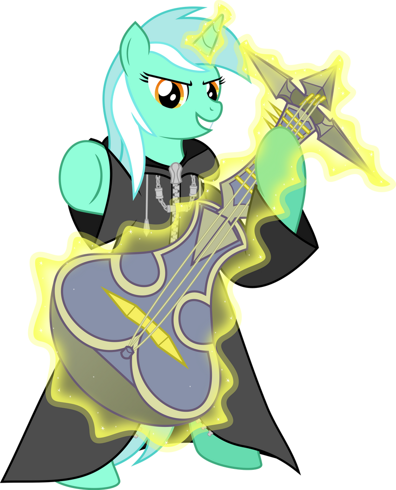 Lyra Sitting Vector Number IX Lyra Heartst...