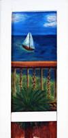 Narrow window to the sea...