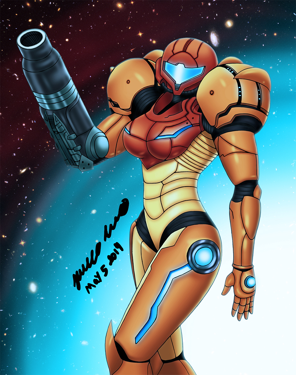 Samus: Varia Suit Alt. by MR-CREEPING-DEATH