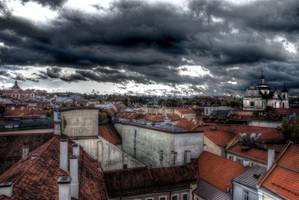 Panorama of Vilnius HDR by MGawronski