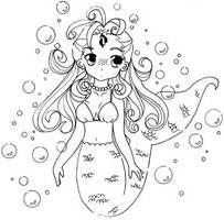 My Little Mermaid by d-ko