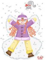 Snow Angel by d-ko