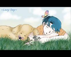 Lazy Day by d-ko