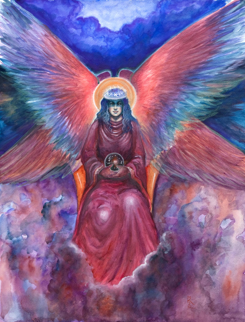 The Divine Sophia by badgersoph