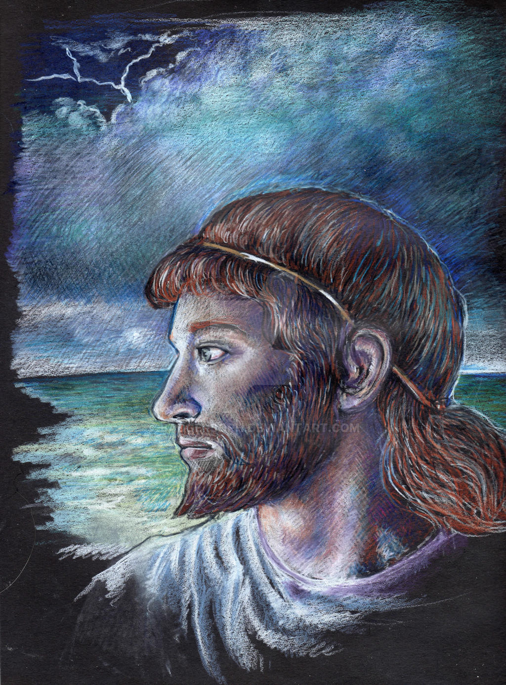 Odysseus by badgersoph