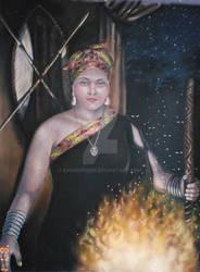 Voudoun priestess 2000