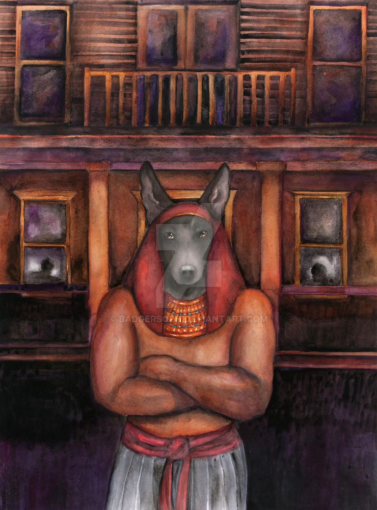 Blair's Anubis by badgersoph