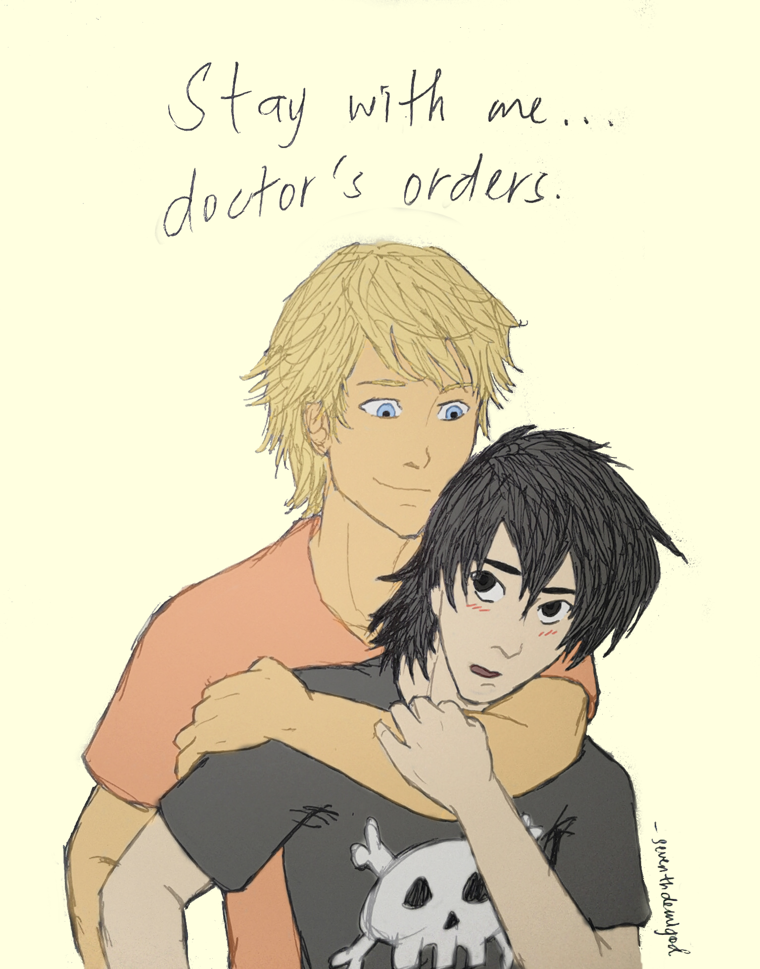 Image result for will solace and nico di angelo