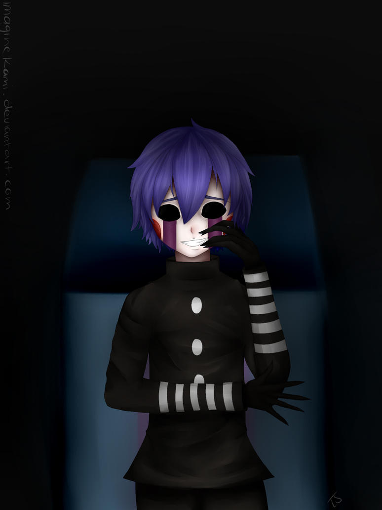 Fnaf mmd marionette fanart by imaginekami on deviantart