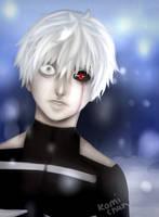 Kaneki Ken - Tokyo Ghoul by ImagineKami