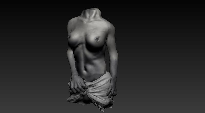 Female torso by Be-Fury