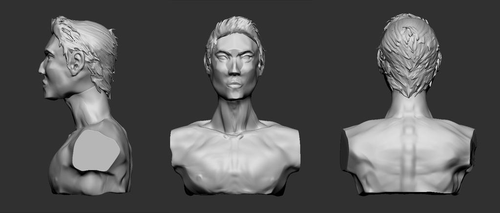 Male sculpt by Be-Fury