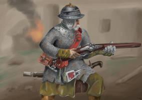 Polish soldier