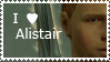 STAMP: I love Alistair by christophernicol