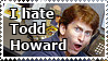 STAMP: I hate Todd Howard by christophernicol