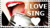STAMP: I love sing by christophernicol