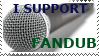 STAMP: I support fandub by christophernicol