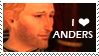 STAMP: I love Anders by christophernicol