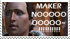 STAMP: Maker noooooo by christophernicol