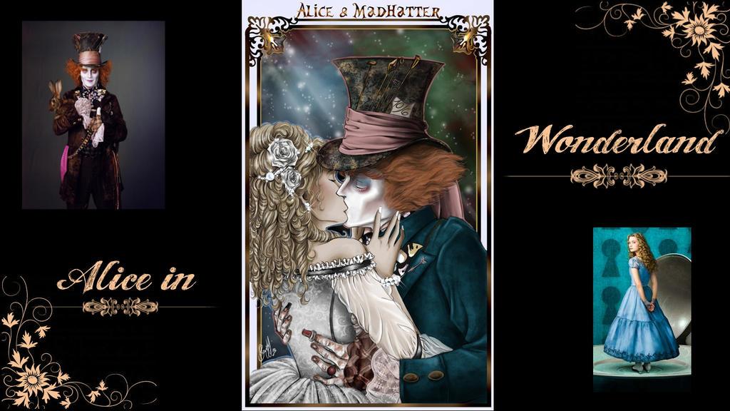 Alice in Wonderland by Vanhia