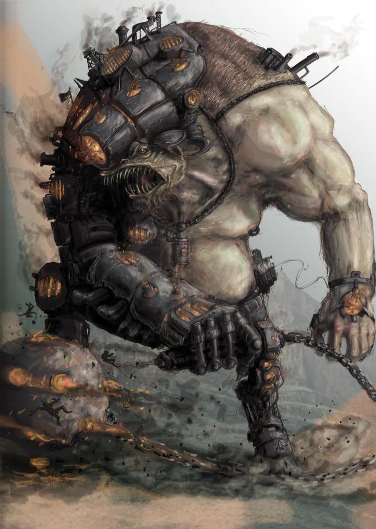 fire elemental war beast by devilman27