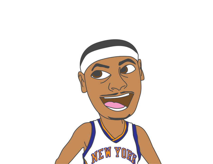 Carmelo Anthony by cdup999