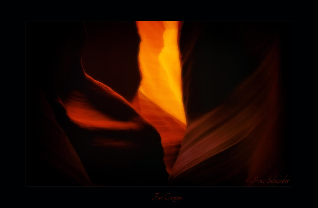 Fire canyon. by Phototubby