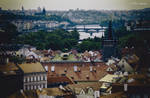 Over the roofs of Prag(II).