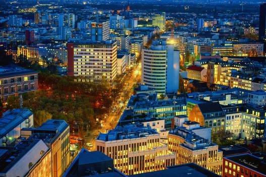Rooftop over Berlin. (II)