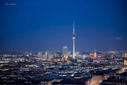 Rooftop over Berlin. (IV)